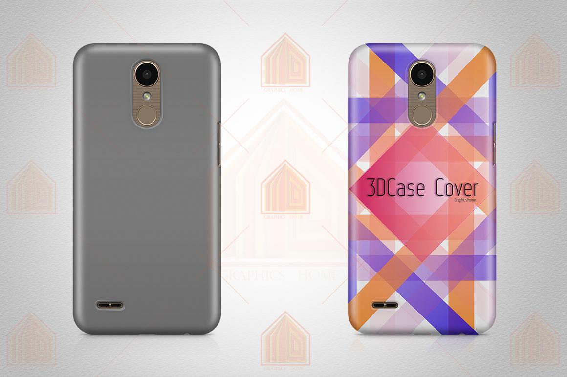 LG K10 2017 Case Design Mockup Back View example image 2