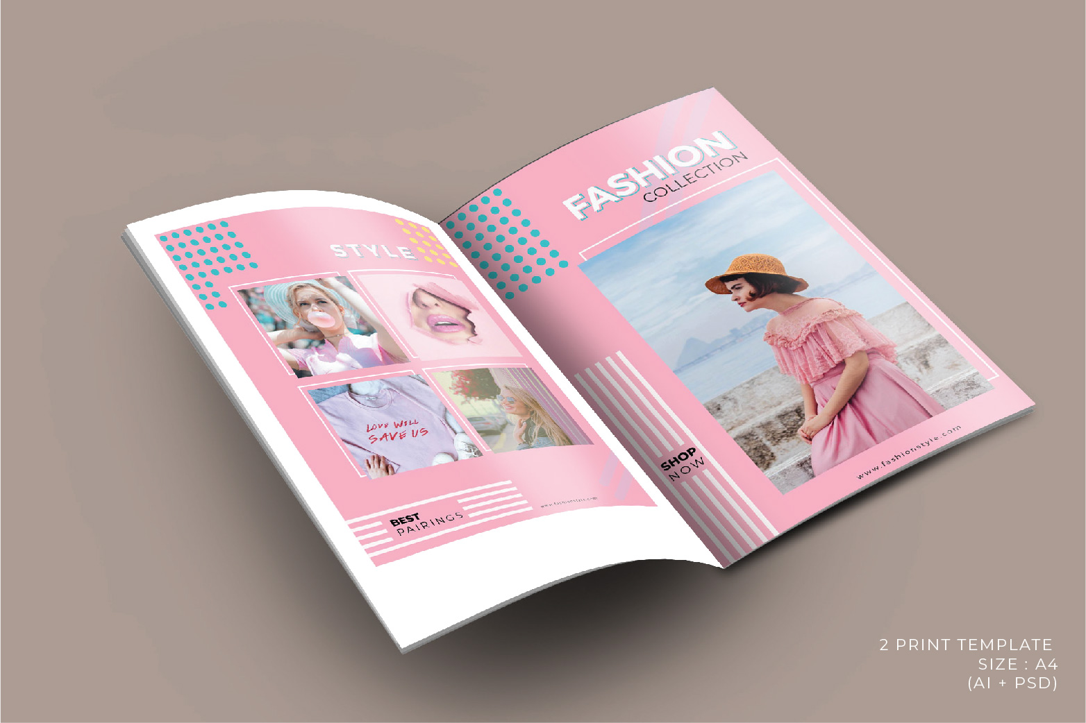 Fashion Template - 2 Poster & 5 InstaStories example image 4