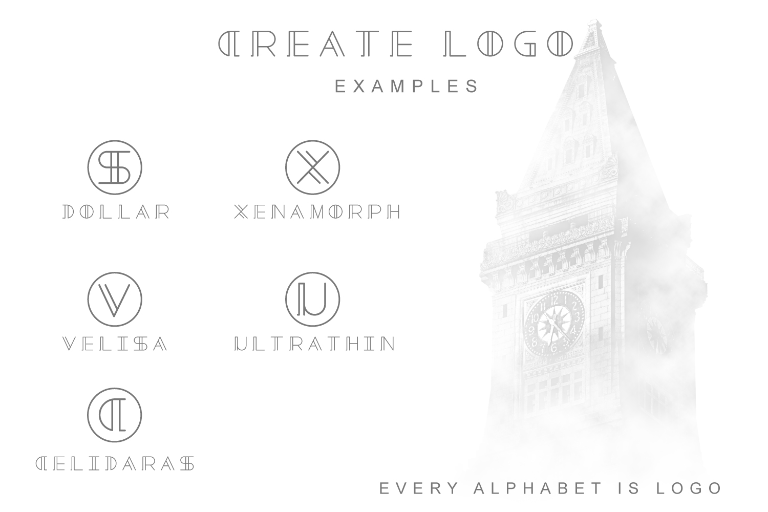 Tower - Minimal Brand Font  example image 3