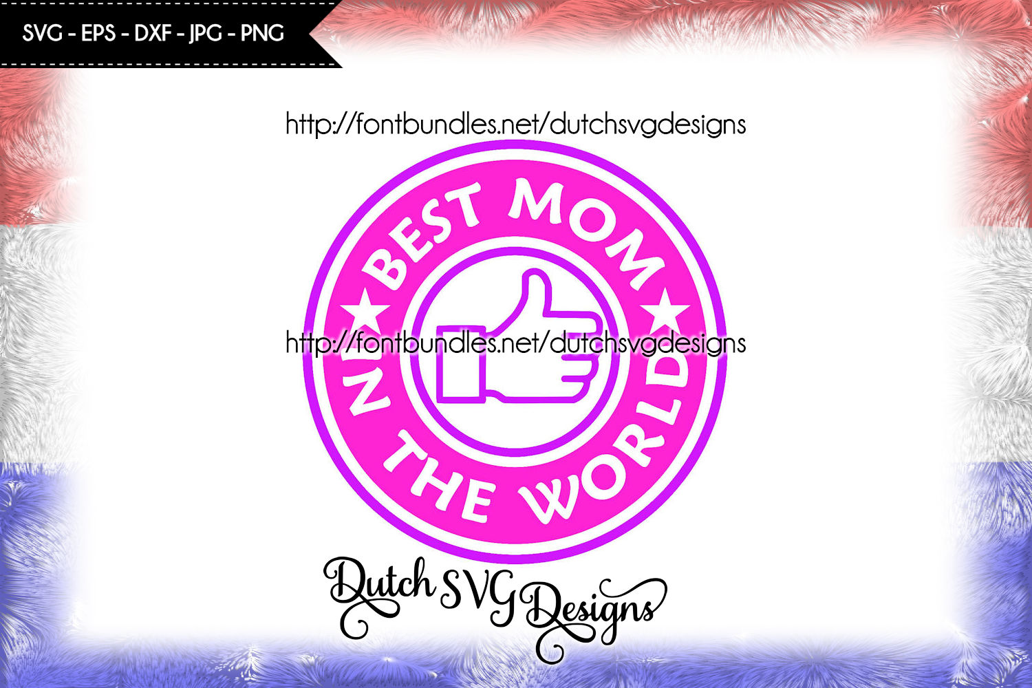 Cutting file Best Mom in the World example image 1