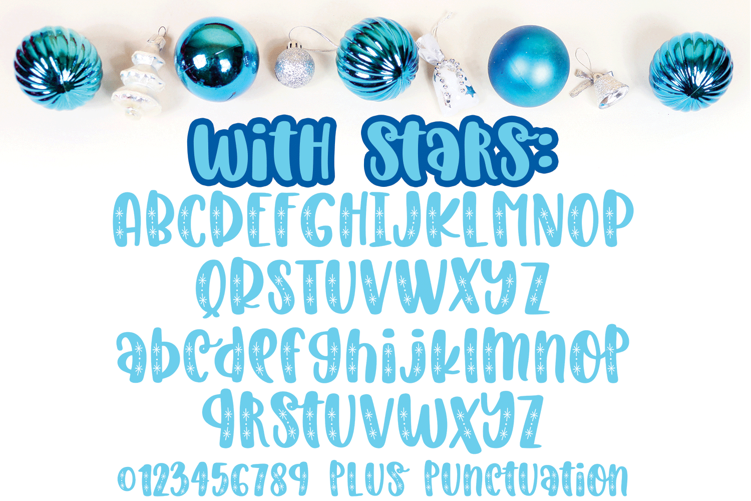 Christmas Laughter - A Holiday Hand-Written Font Trio example image 3