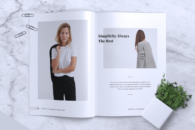 ENTHICA Fashion Magazines example image 7