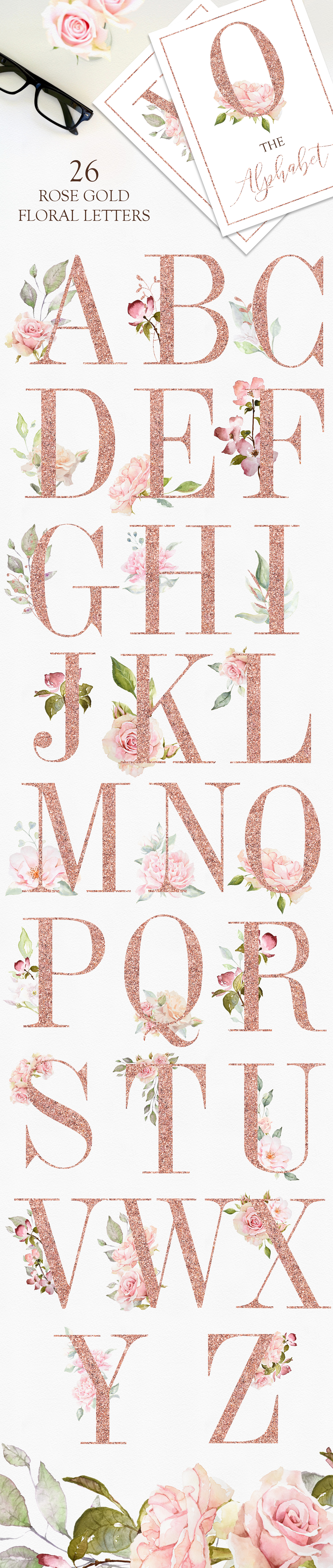 Pretty in Pink Watercolor Collection example image 10