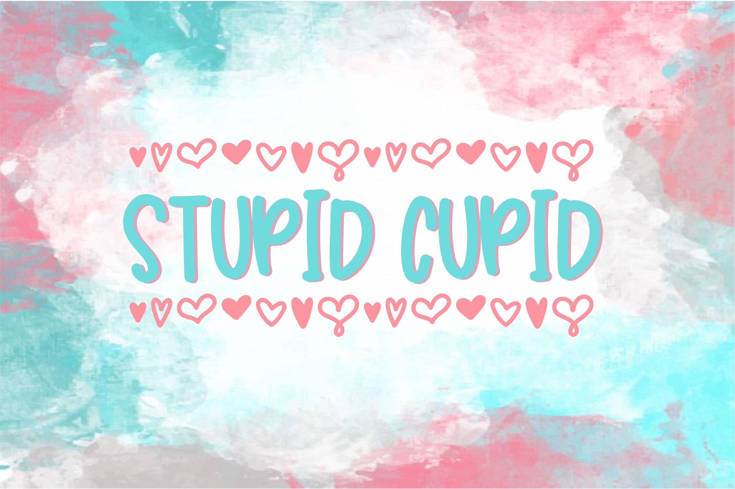 Stupid Cupid example image 1