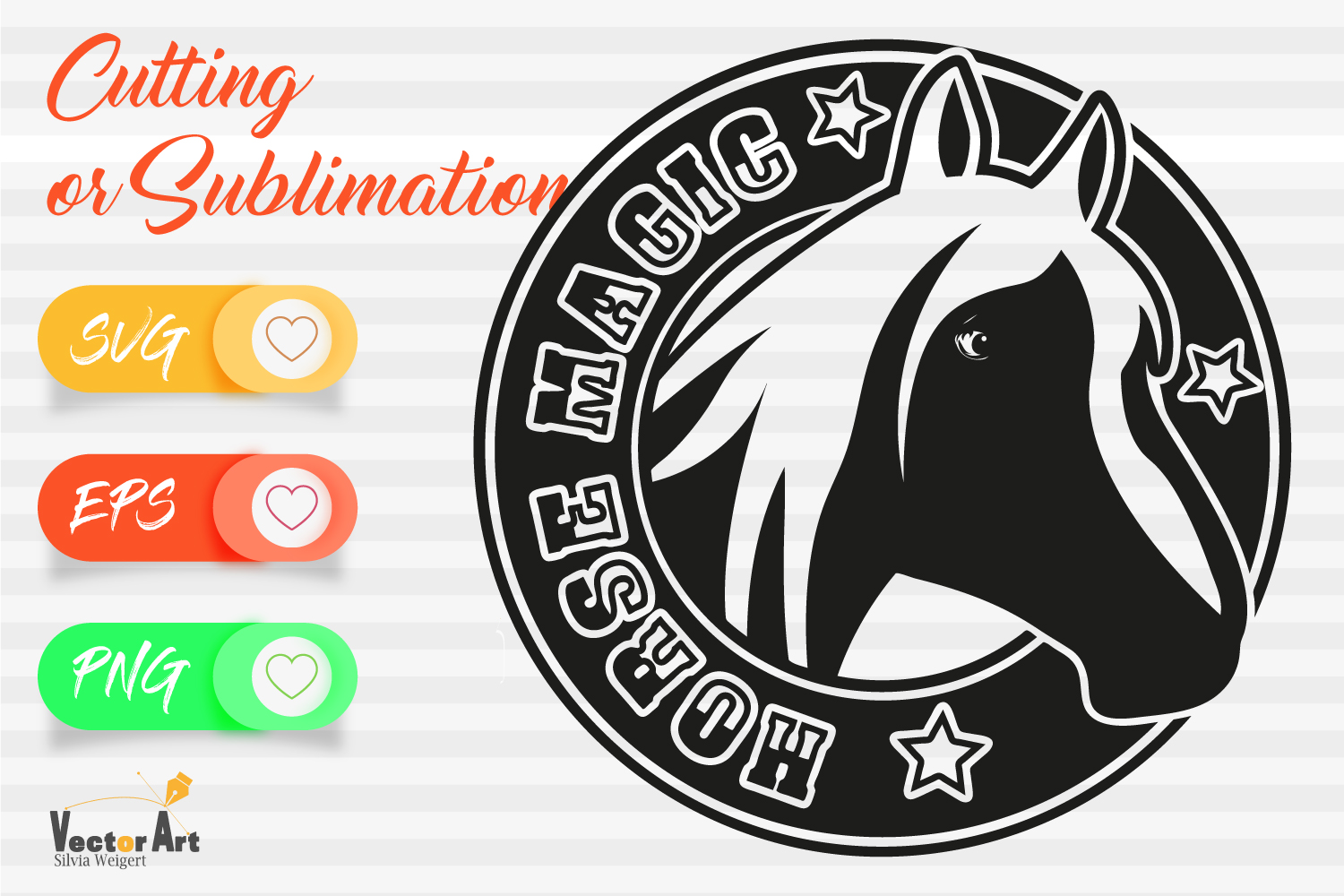 10x Horse Theme - Mini Bundle - Cut files for Crafters example image 11