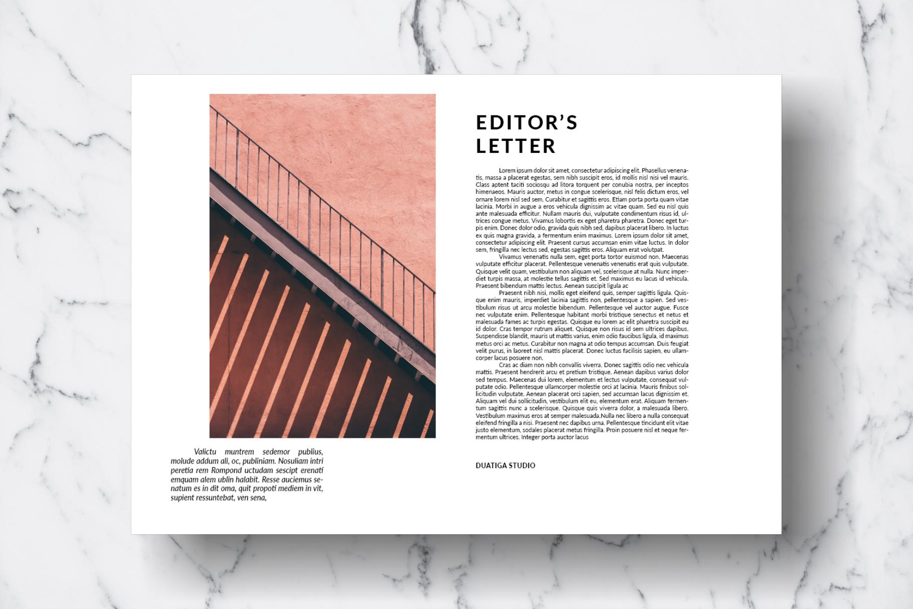 Magazine Template Vol. 13 example image 2