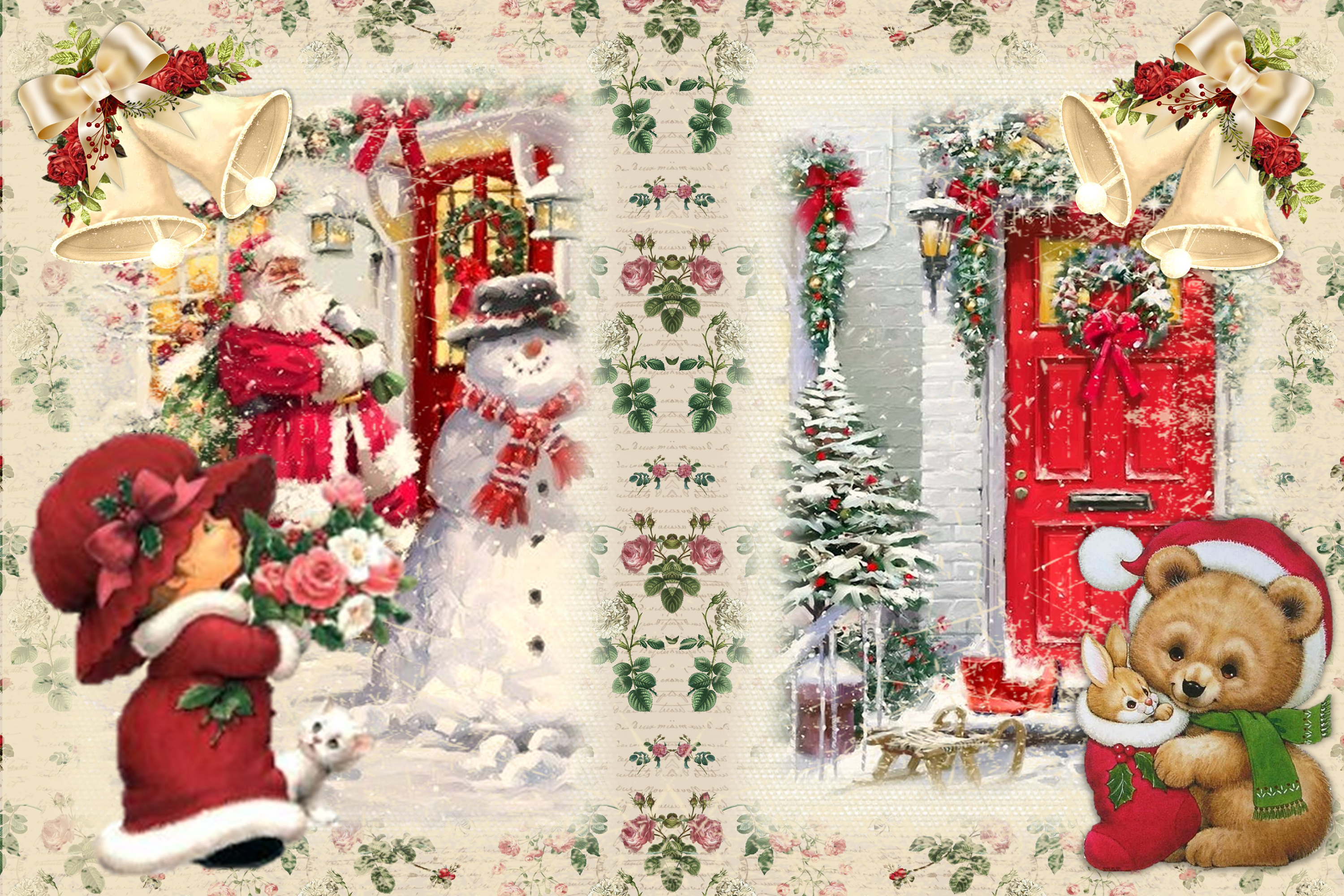Christmas Fireside Journaling Kit CU with Free clipart example image 5