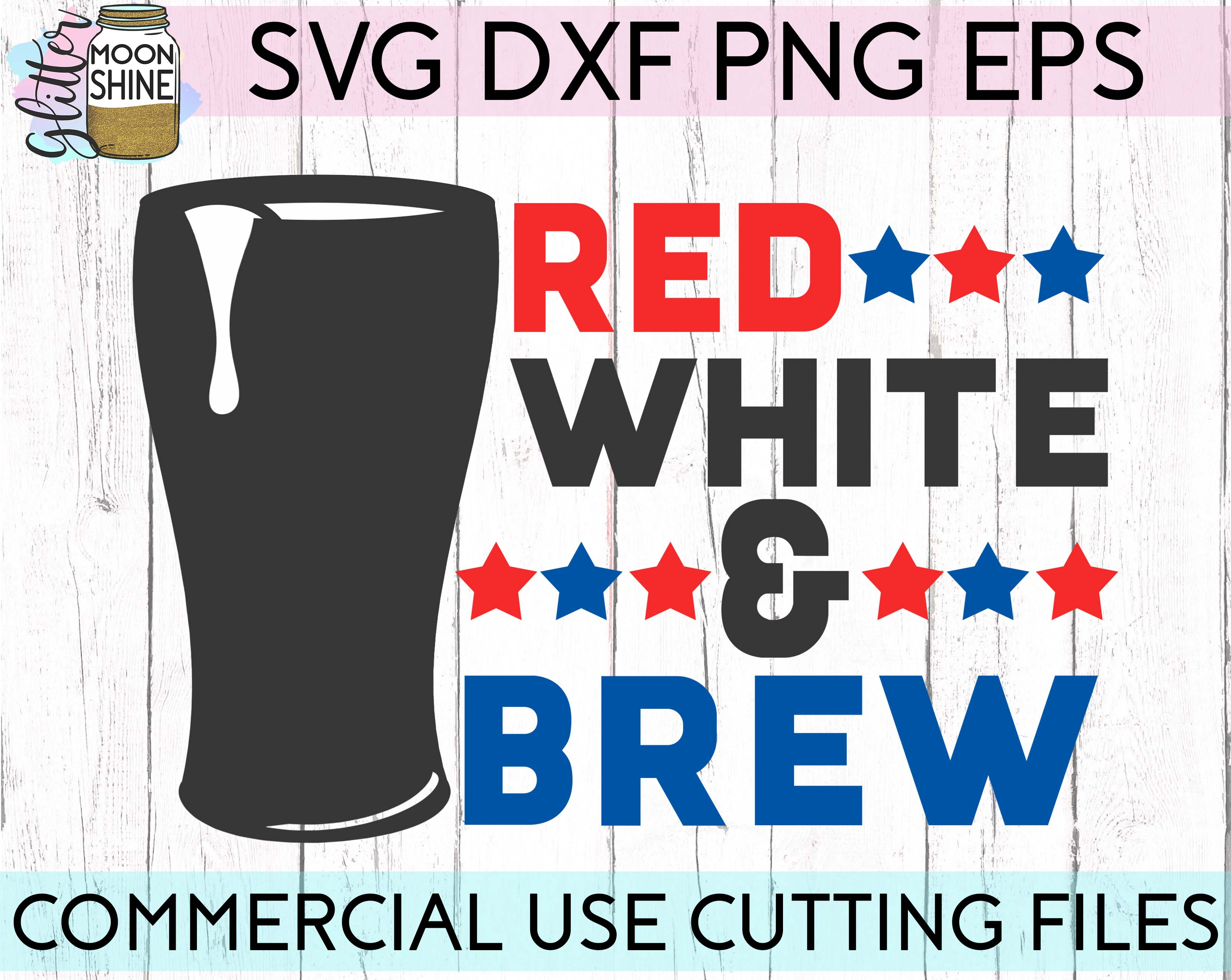 Huge 4th Of July Design Bundle of 23 SVG DXF PNG EPS Cutting Files example image 10