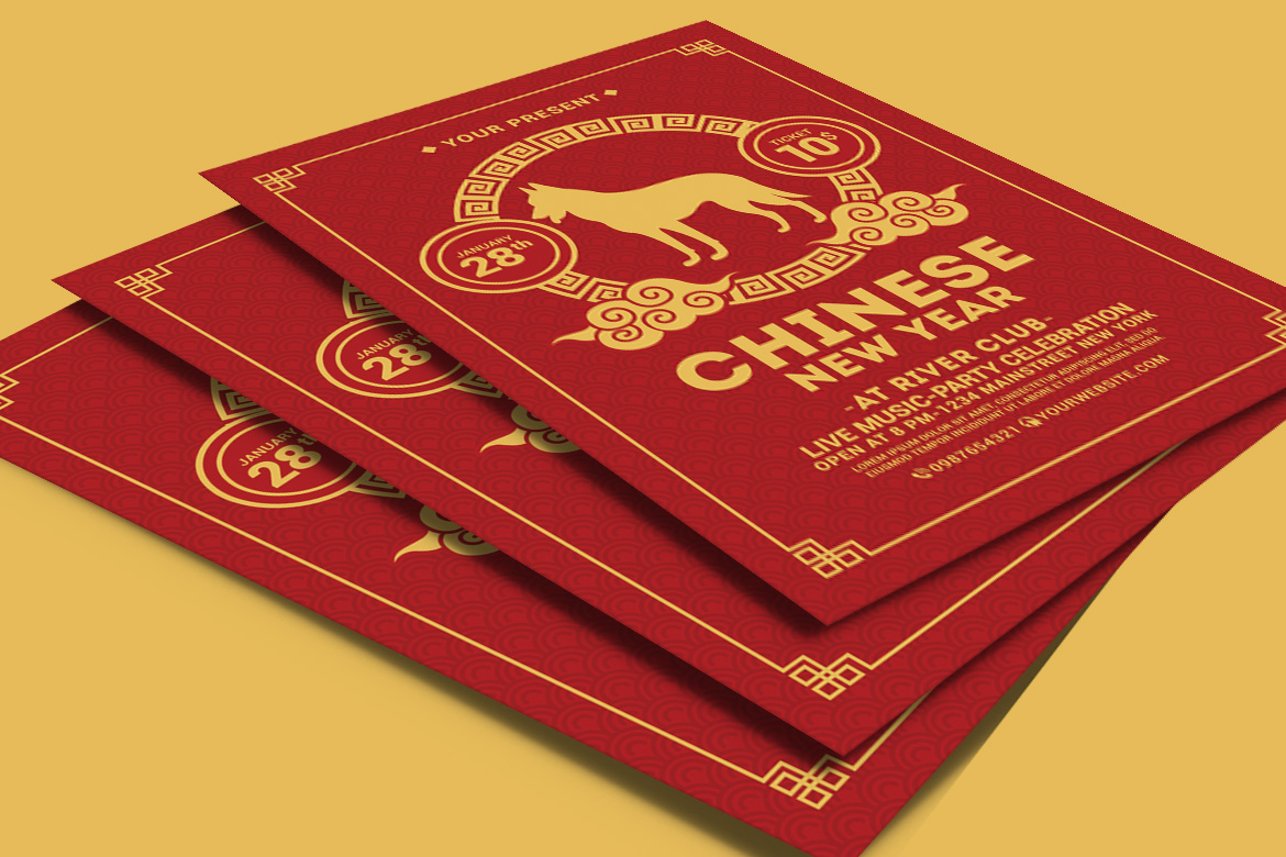 Chinese New Year Flyer example image 4