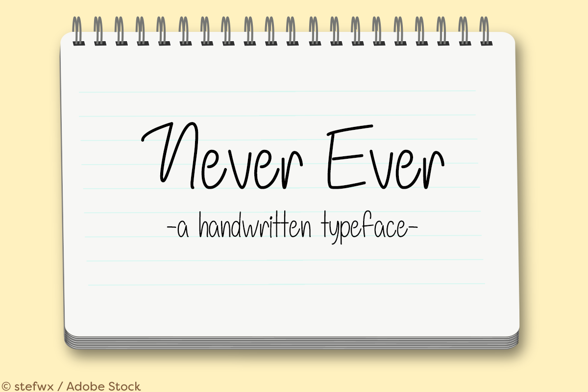 Never Ever example image 1
