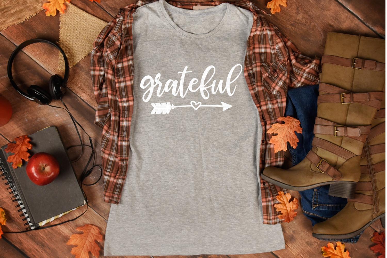 grateful SVG | arrow SVG | Thanksgiving SVG example image 3