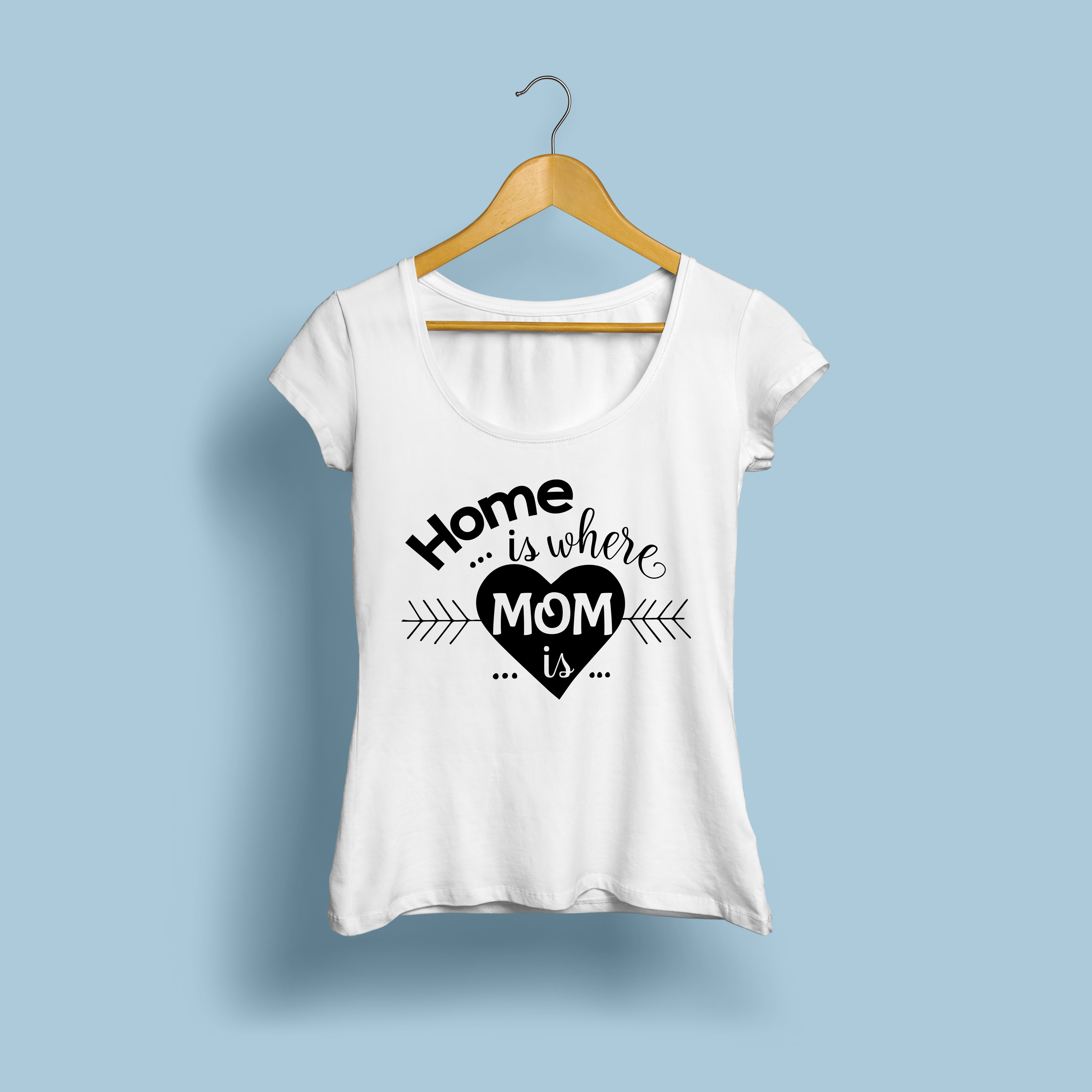 Home is Where Mom is | Cutting File & Printable | SVG | PNG example image 2