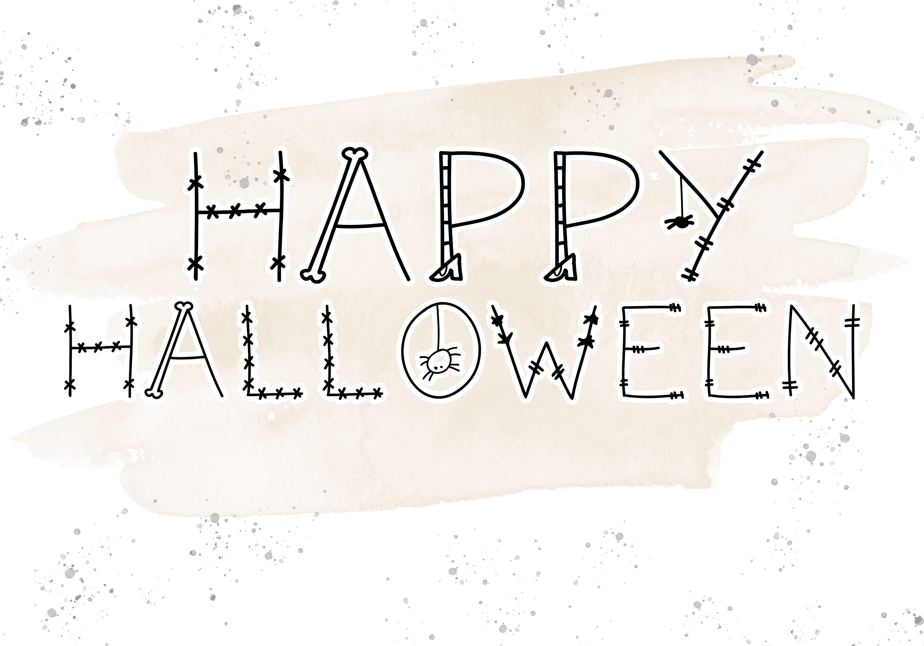 Skeleton - A Fun Halloween Font example image 2