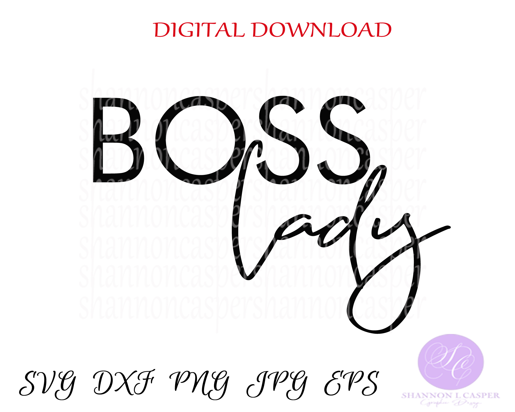 Boss lady example image 2