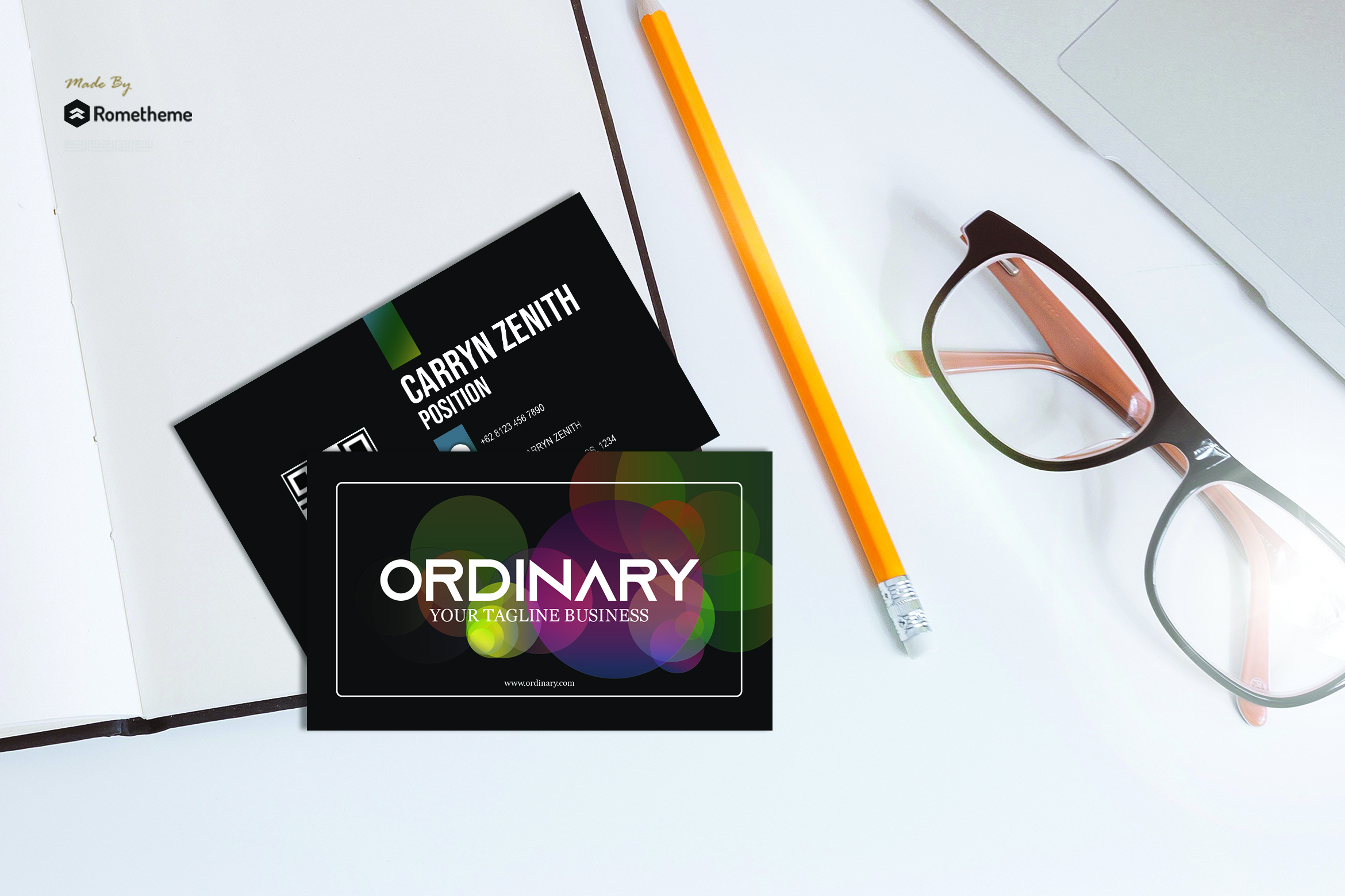 Business Card vol. 16 example image 1