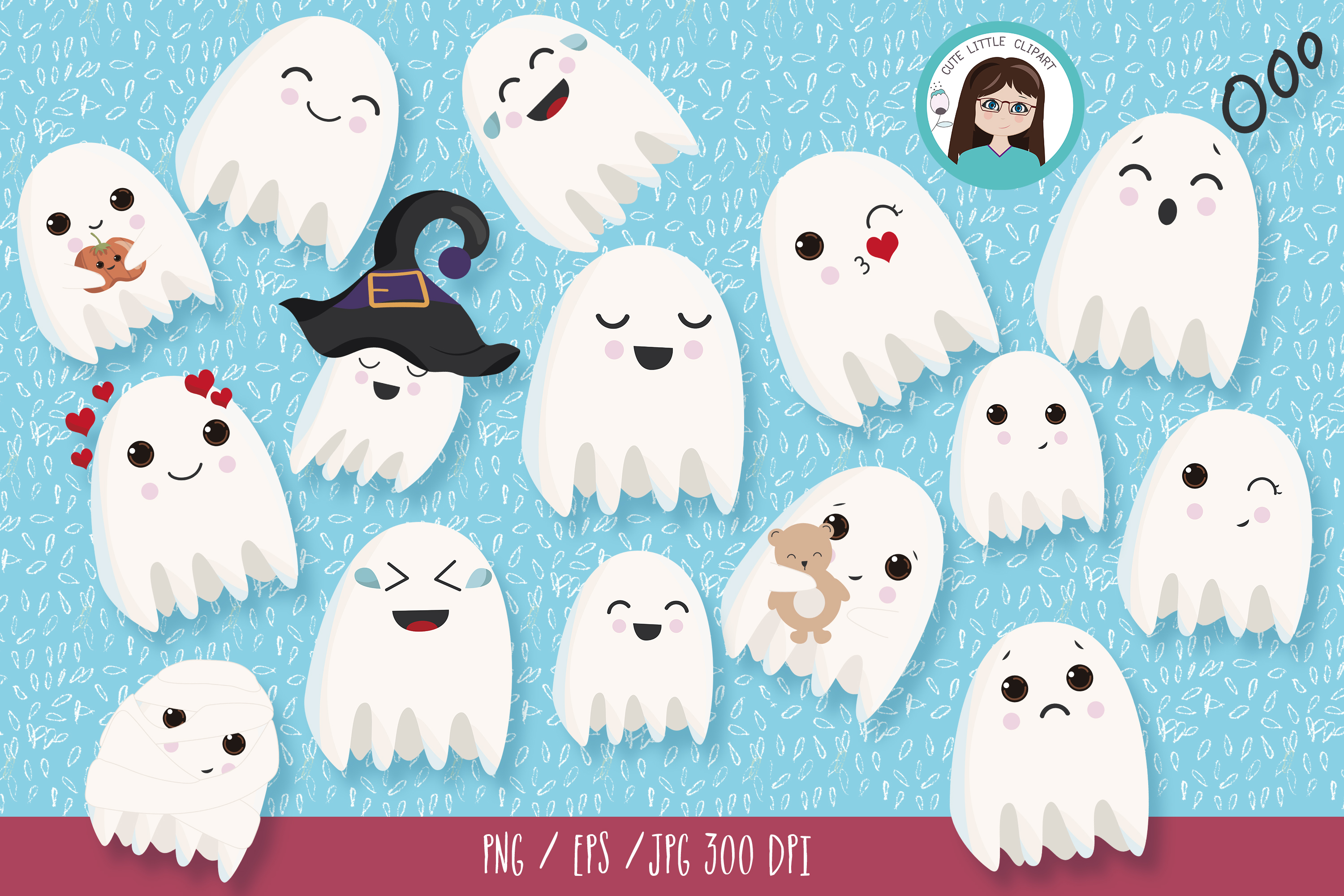 Ghost clipart example image 1