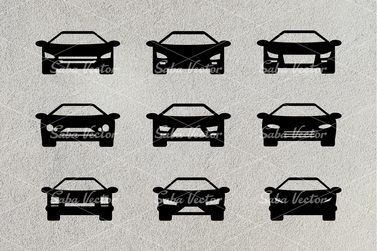 Silhouette Car SVG example image 2