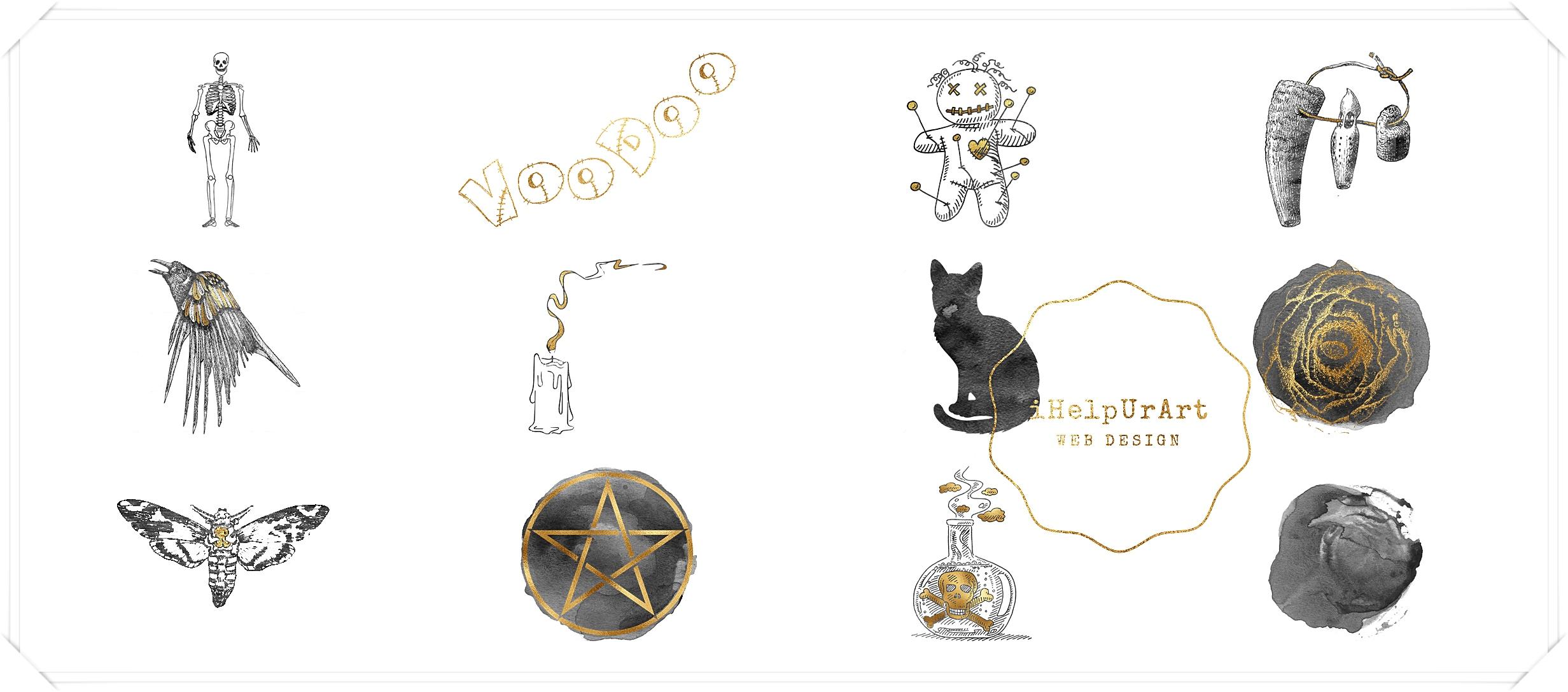 Witchcraft Voodoo Clipart example image 3