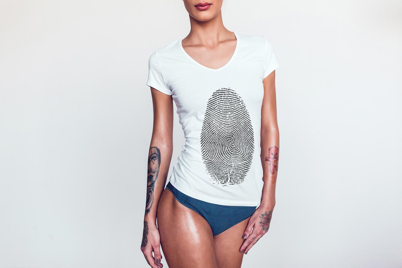 T-Shirt Mock-Up Vol.2 2017 example image 3