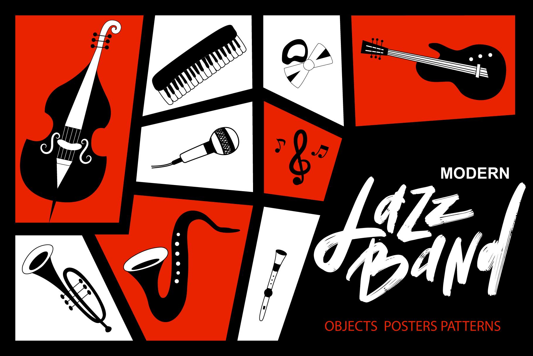 Modern jazz band example image 1