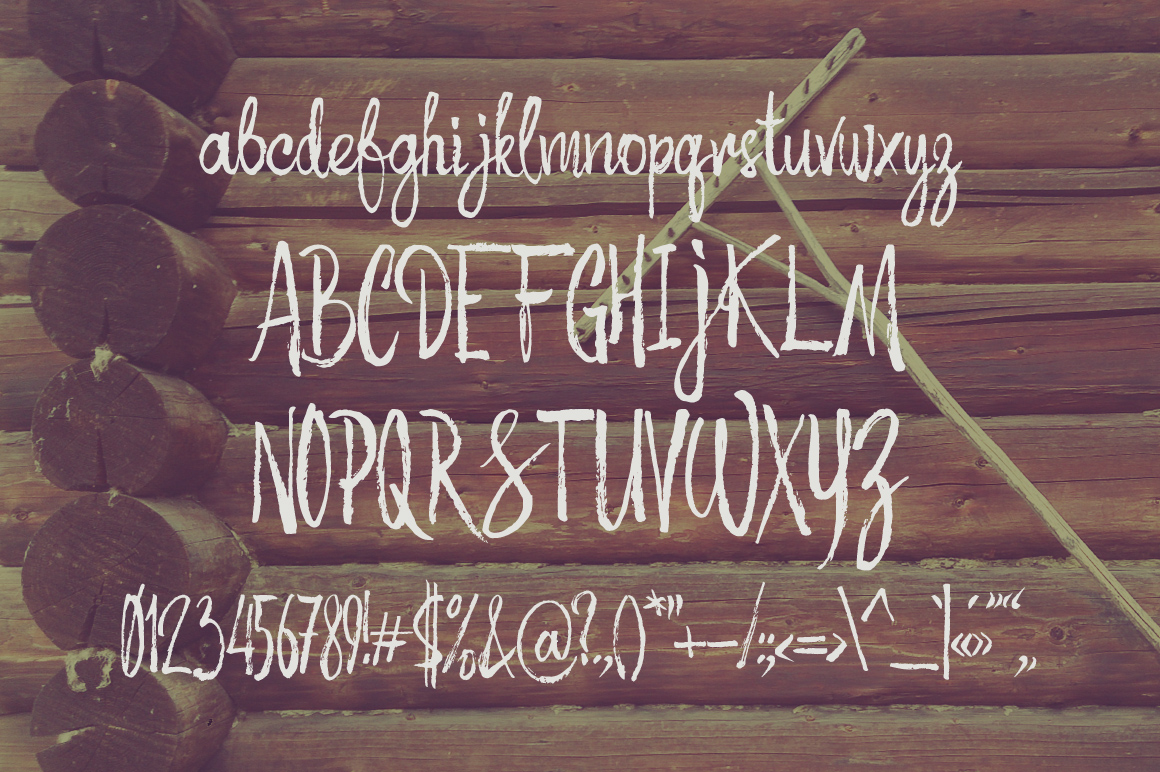 Autumn Feel font example image 3