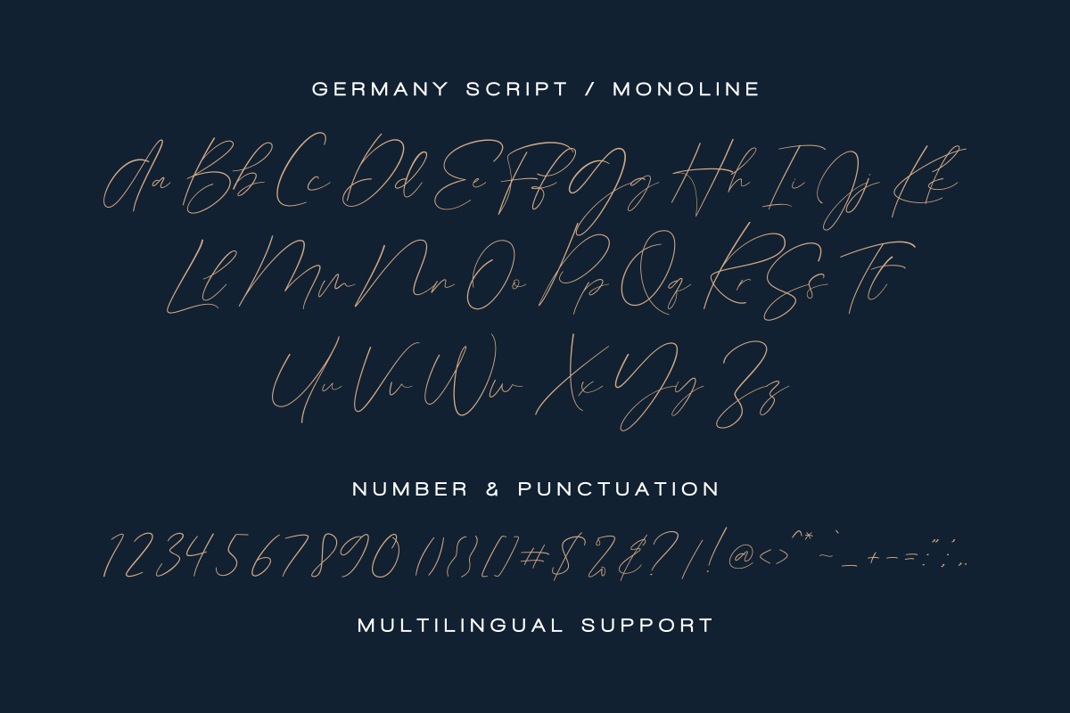 Germany - Luxury Font Duo example image 18