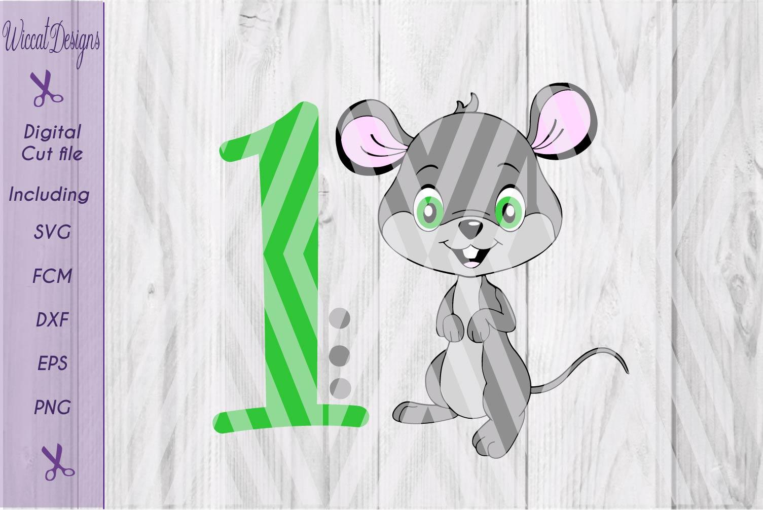 Mouse svg, Birthday svg, boy svg, Boy mouse svg, critter svg  example image 4