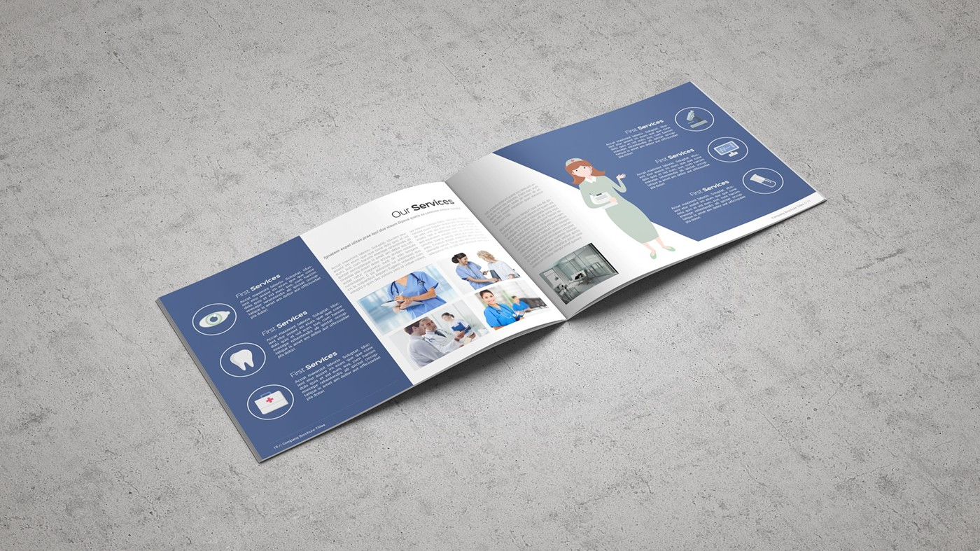 Health & Care Brochure Template example image 17