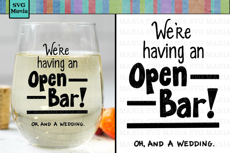 Funny Wedding SVG File, Engagement SVG, Bachelorette SVG example image 1