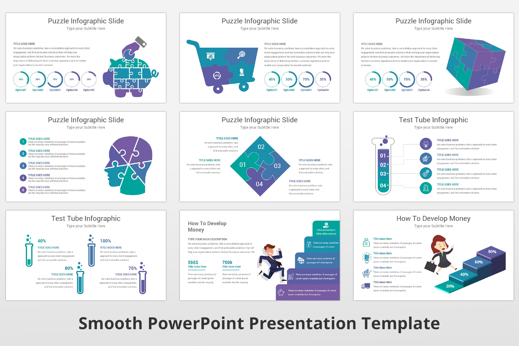 Smooth multipurpose PowerPoint Presentation Template example image 17