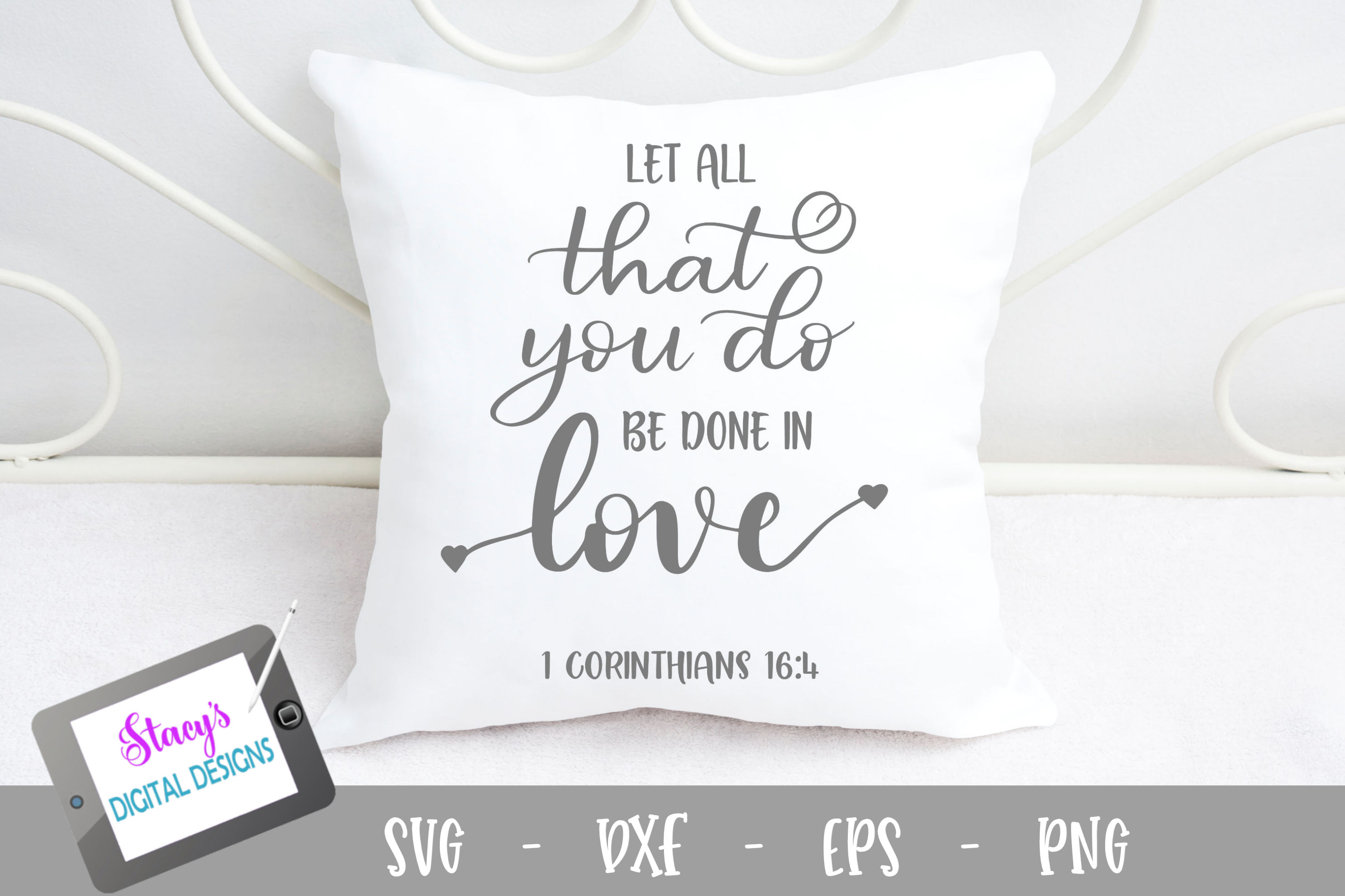 Let all that you do be done in love SVG example image 1