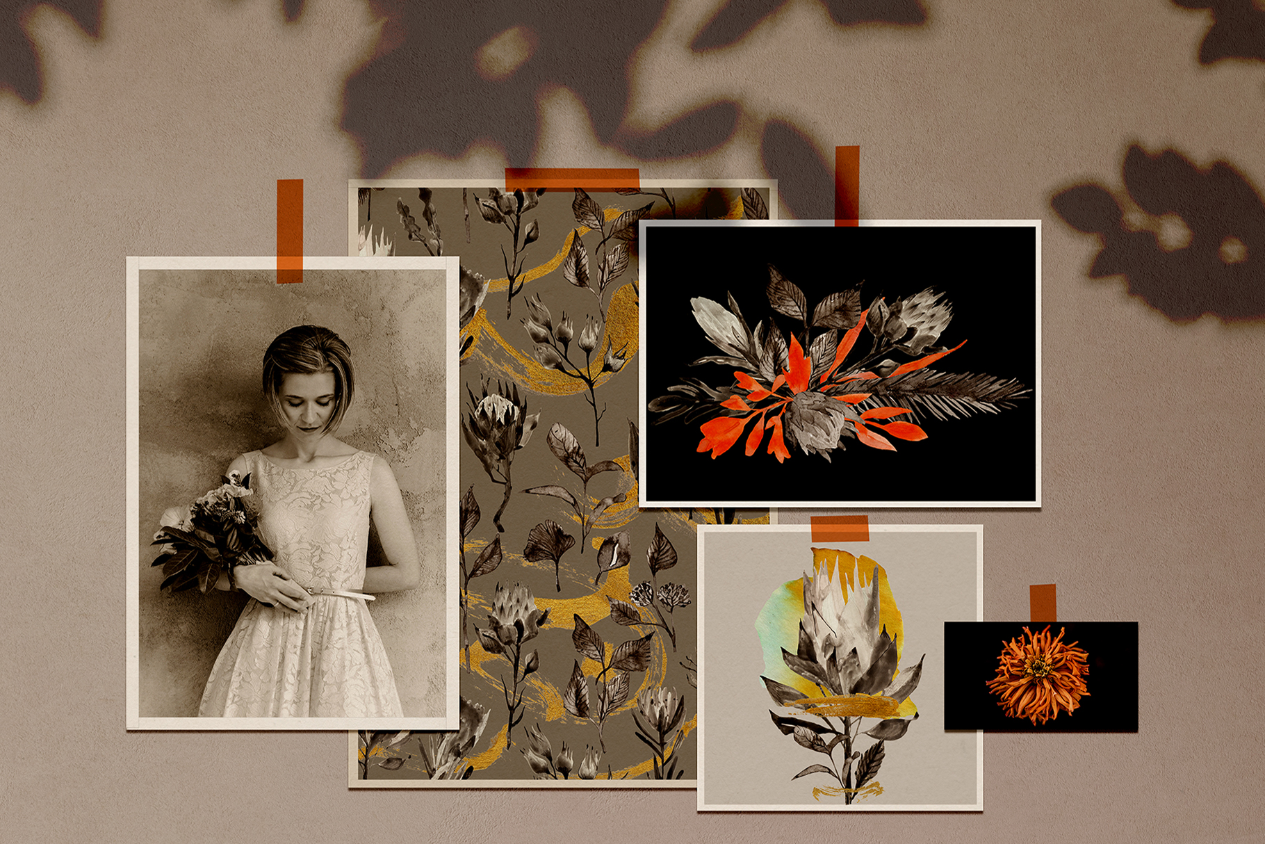 MONOCHROME Floral Collection example image 3