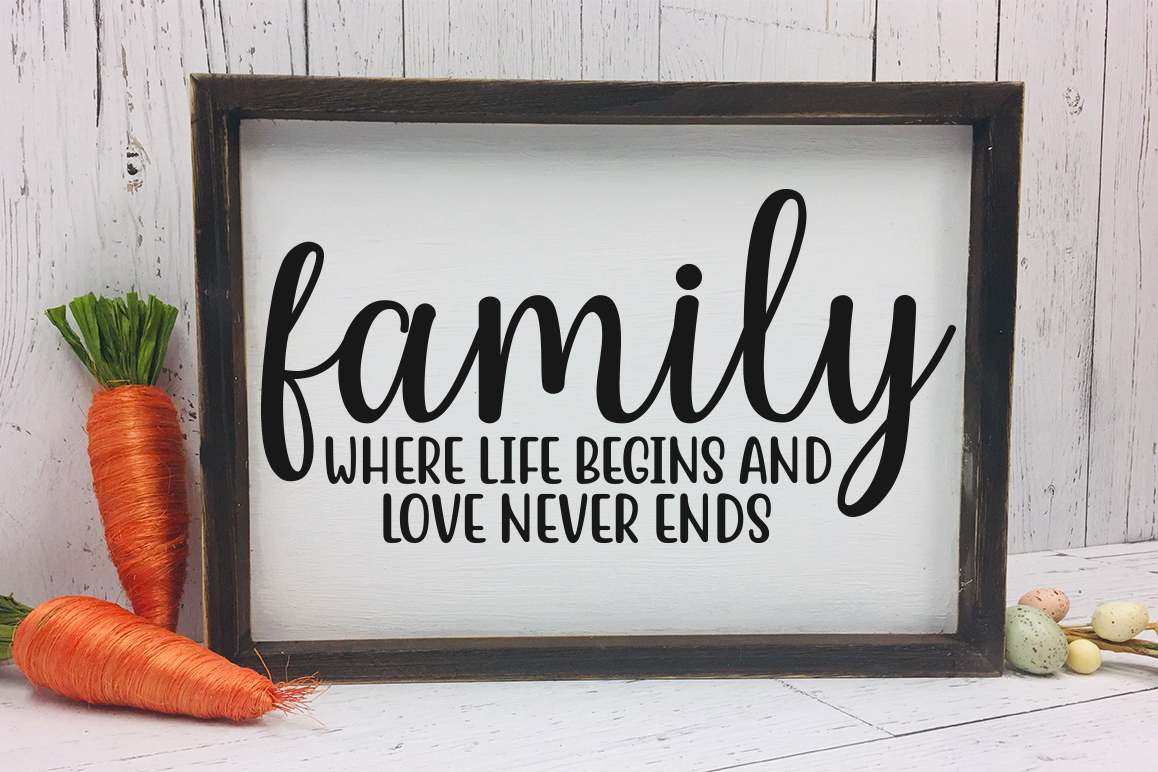 Family svg bundle, Family quotes svg example image 3