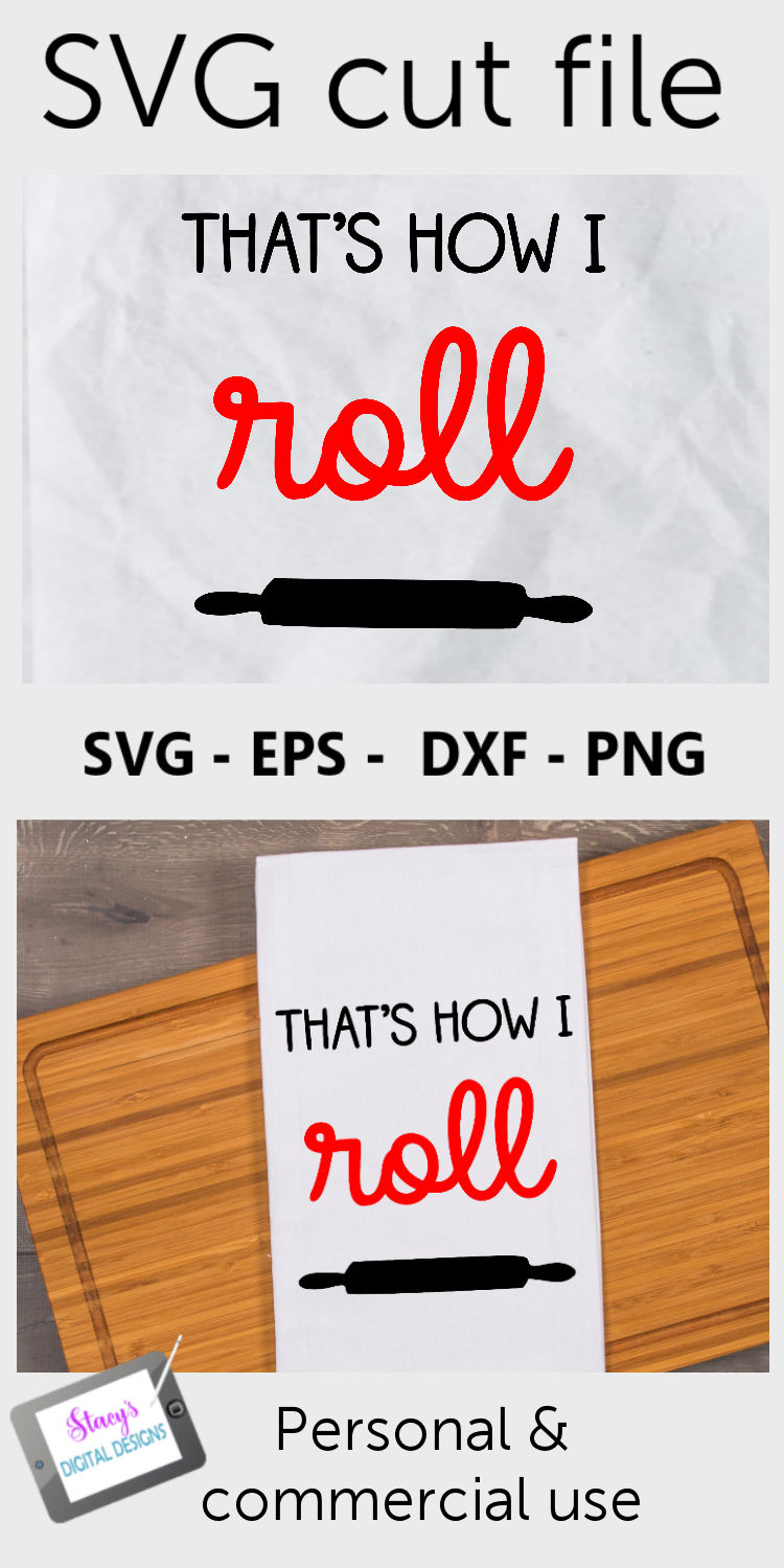 That's how I roll SVG - Kitchen SVG example image 3