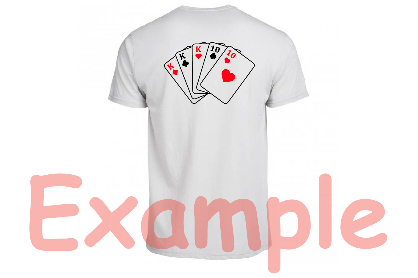 Poker Full House Straight Flush Four of a Kind Straight 742S example image 5