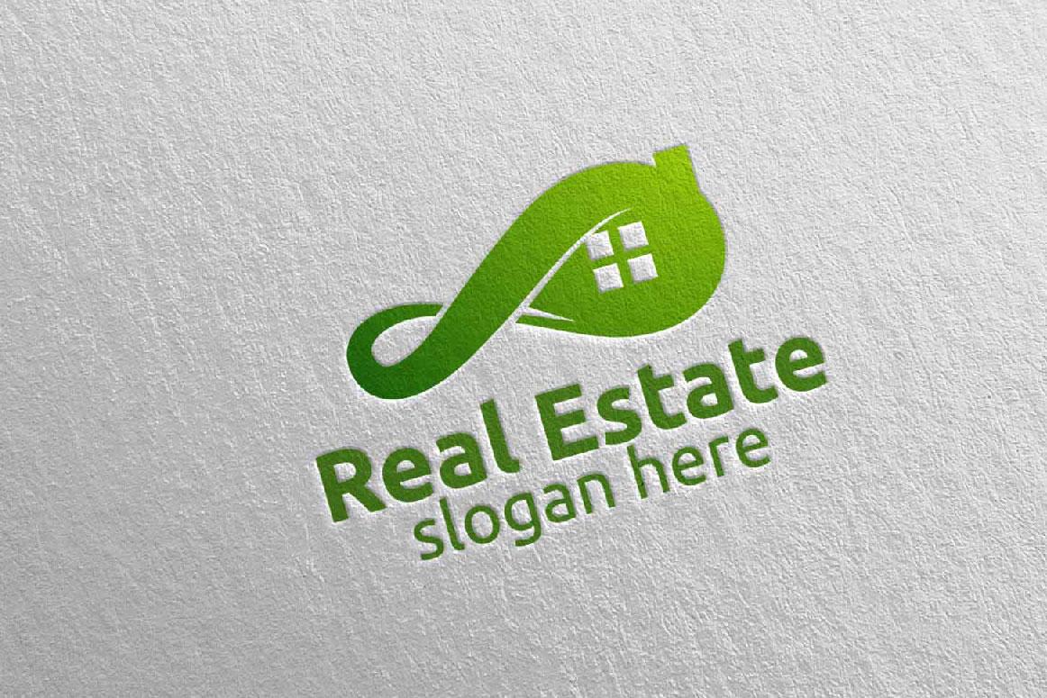 Real Estate Infinity Logo Design 36 example image 5