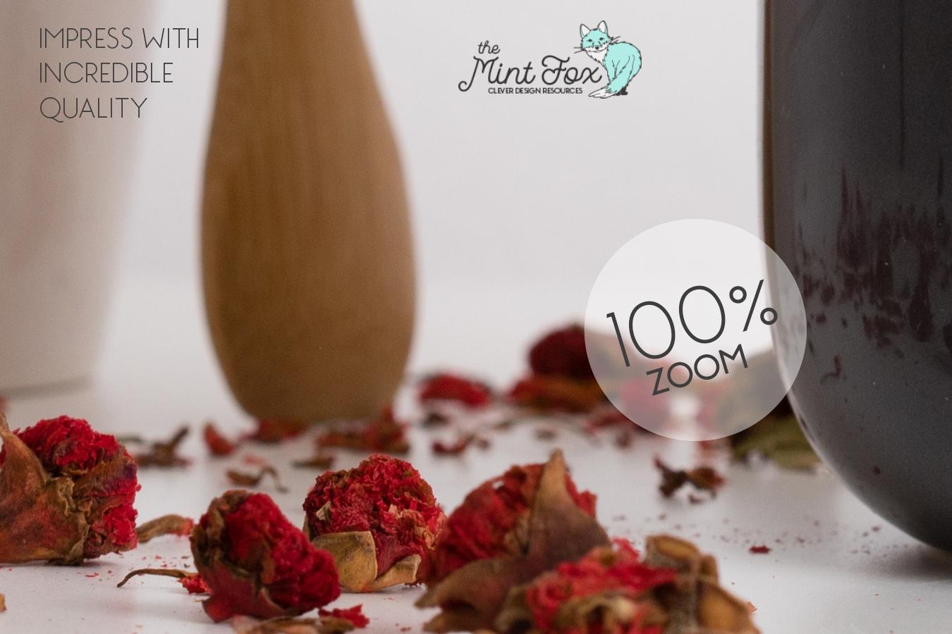 Spice Jar Mockup | PSD & JPG Kitchen Mock Up example image 3