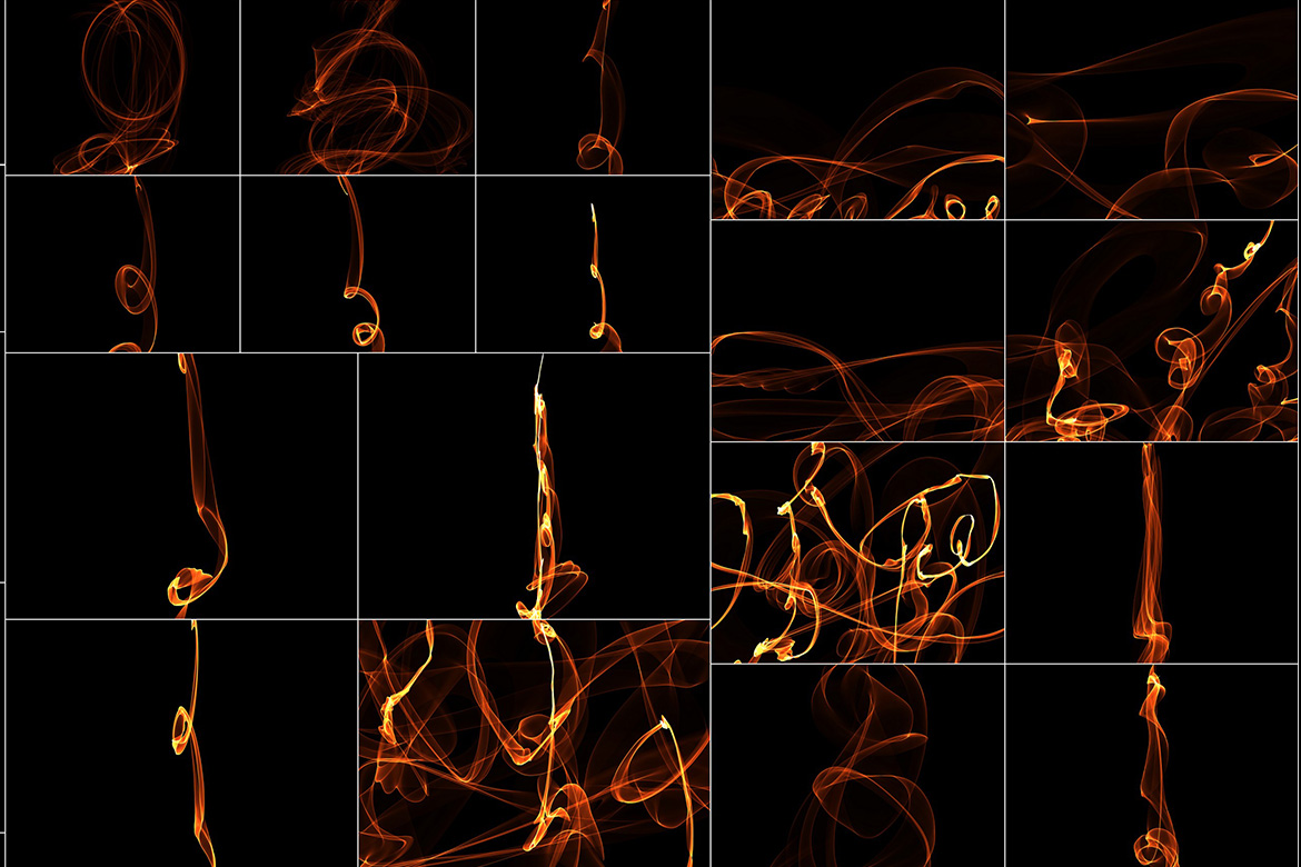 75 Abstract Fire Overlays Vol. 2 example image 5