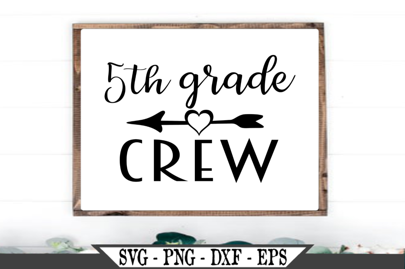 5th Grade Crew for Fifth Grader SVG example image 1