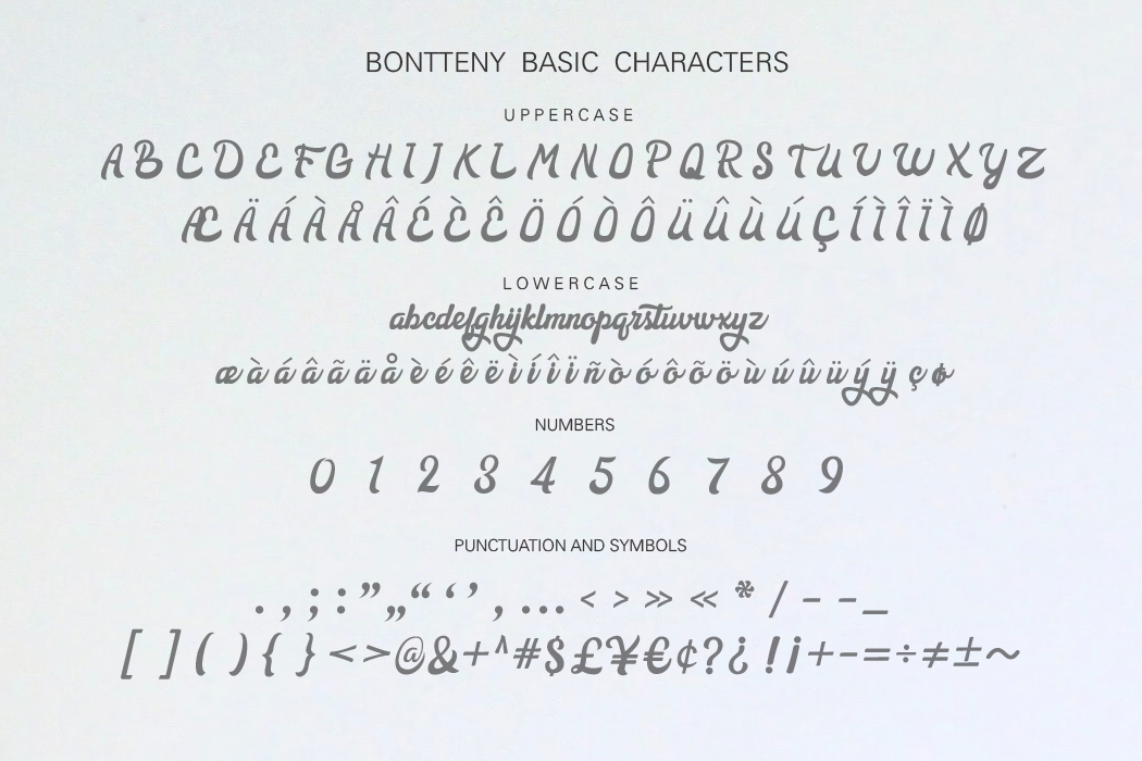 Bontteny Font example image 6