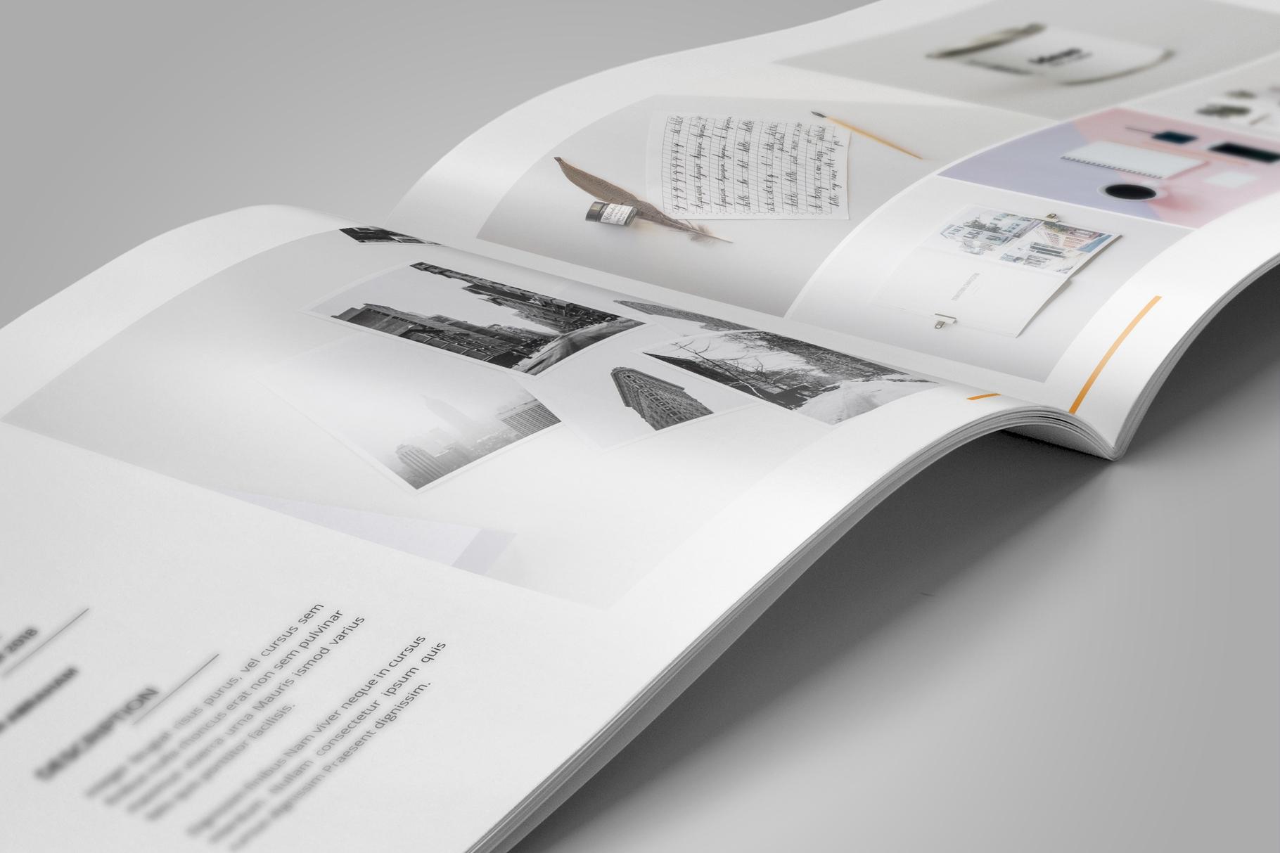 Portfolio Brochure Design v5 example image 5