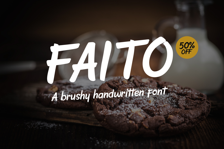 Faito Font example image 1