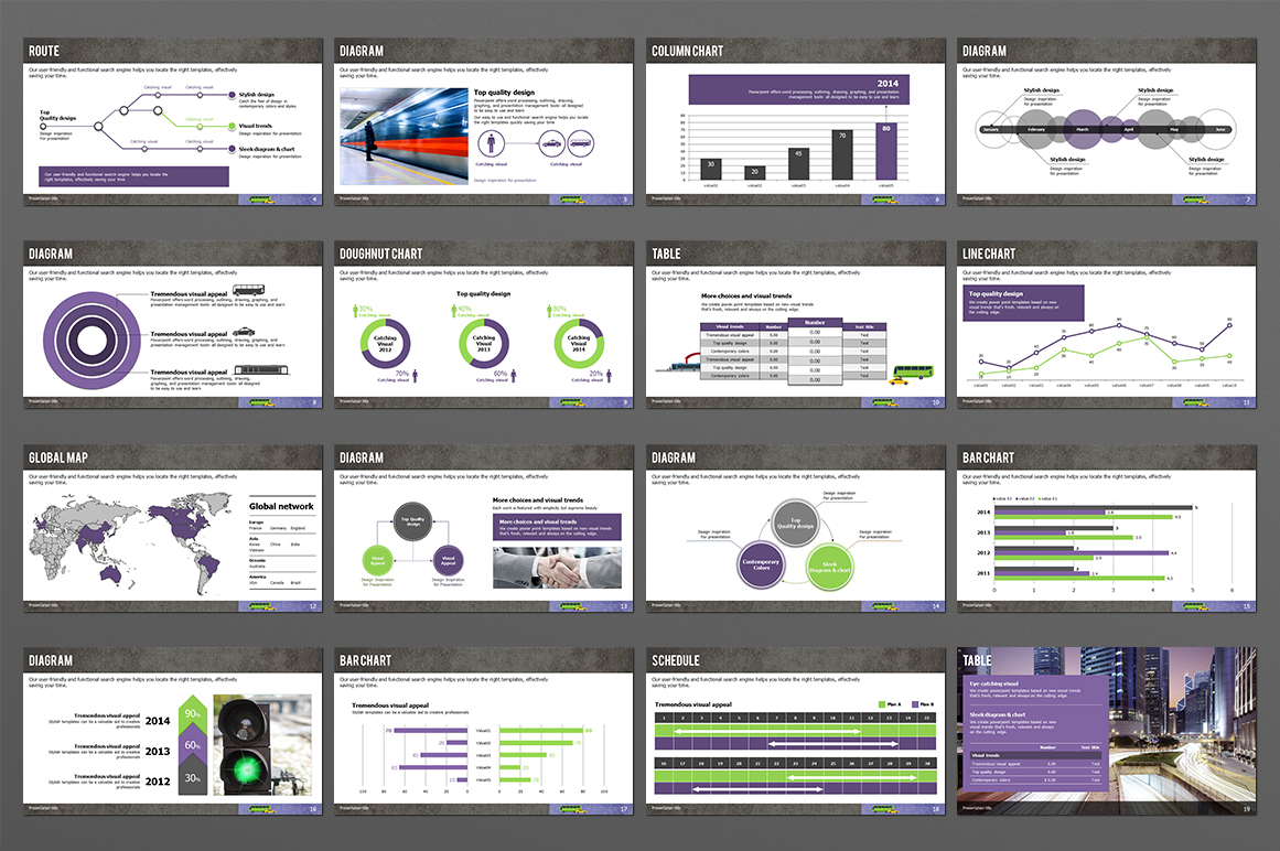 Transportation PPT Template example image 4