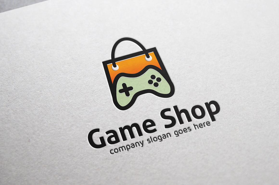 Game Shop Logo example image 2