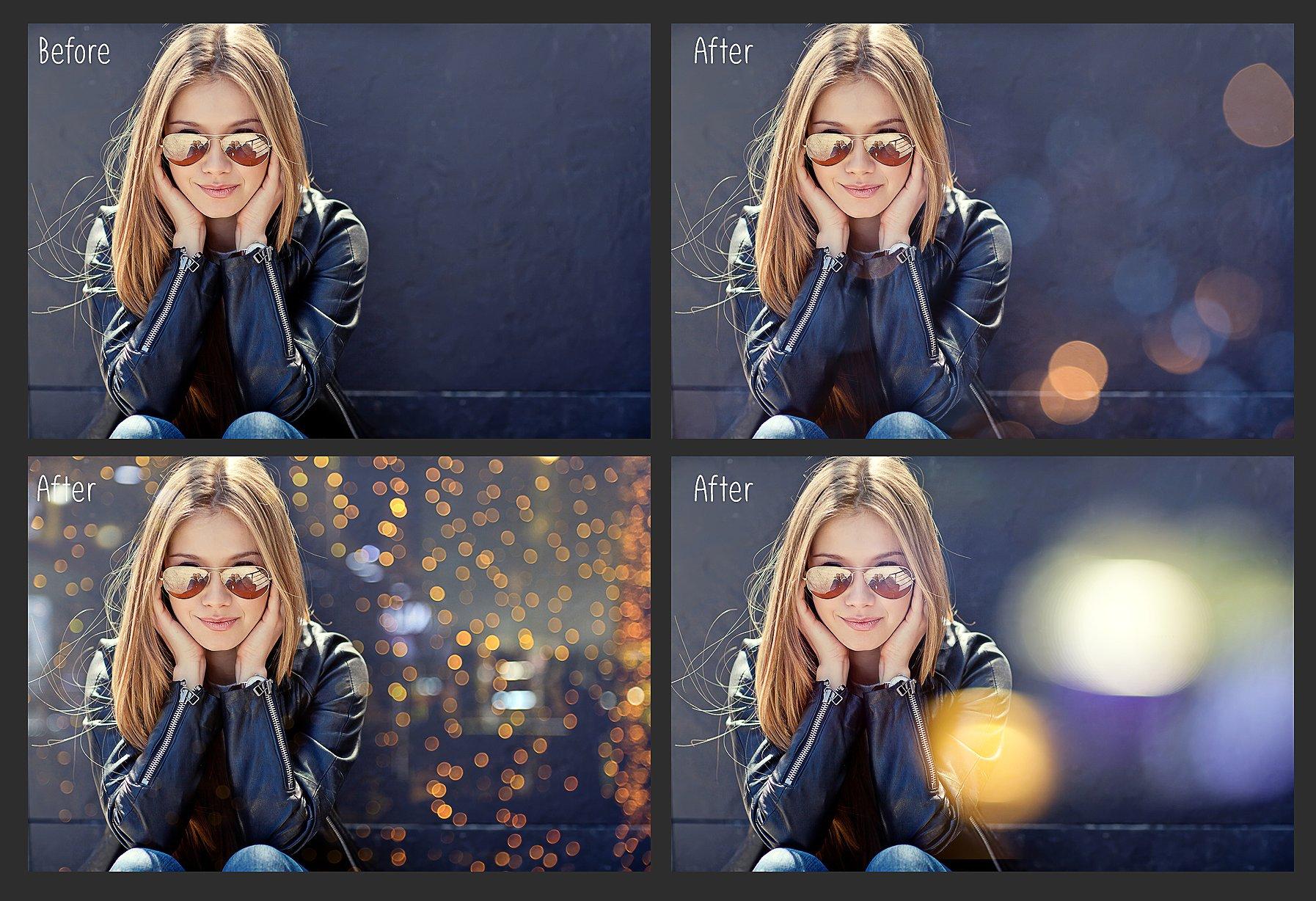 100 Bokeh Photo Overlays example image 4