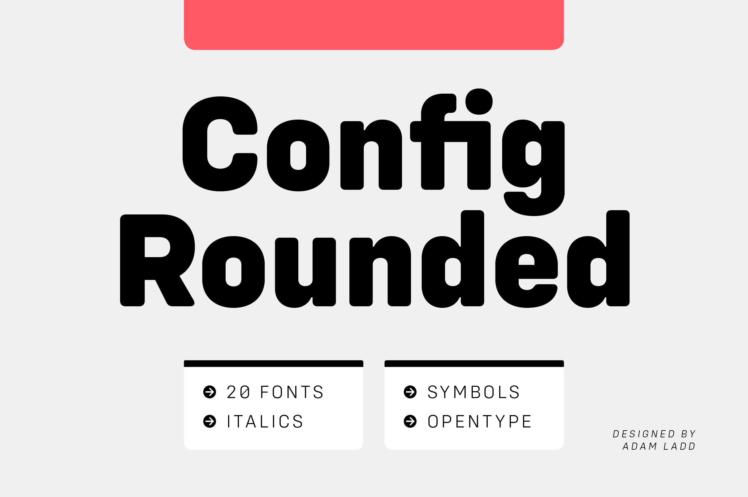 Config Rounded Font Family example image 1