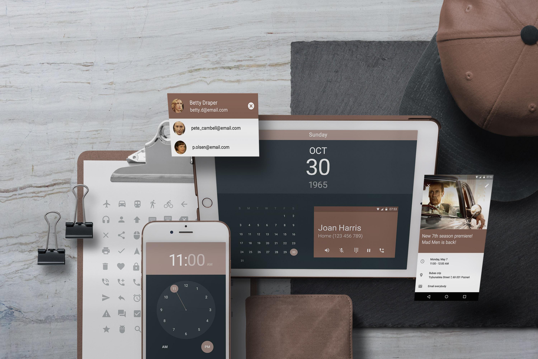 App / UI Kit Mockups example image 6