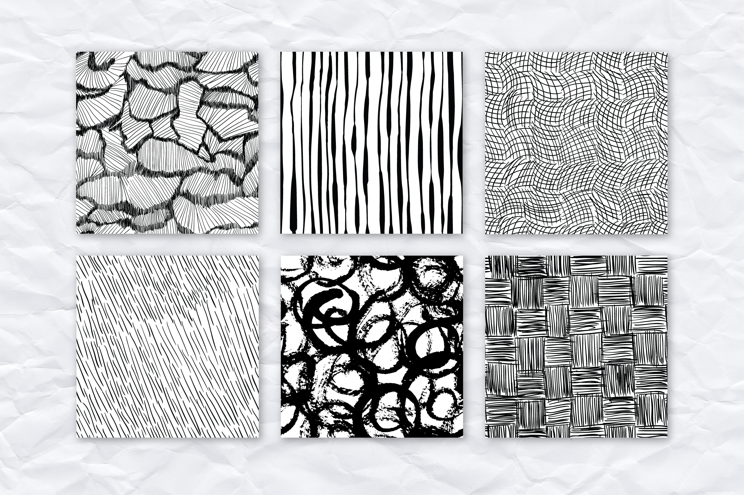 26 ink effect seamless patterns example image 2