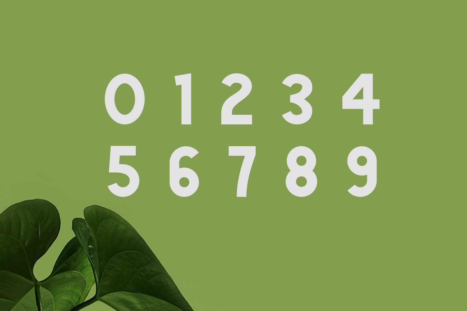 Green | Natural Cute Font example image 6