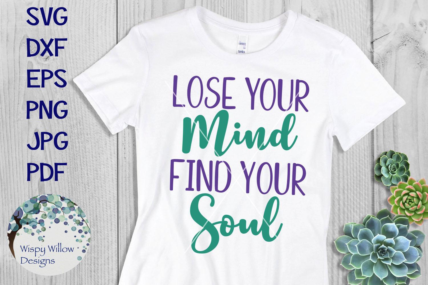Lose Your Mind Find Your Soul SVG example image 1